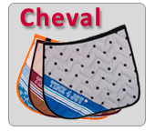 Tapis de selle pour cheval Time 4 joy